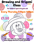 Drawing and Origami Class - Thursdays.pn