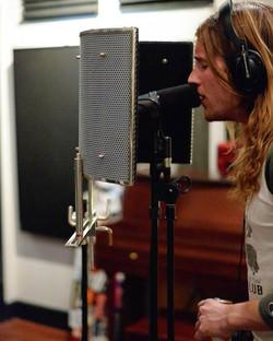 The Irish Exit in studio