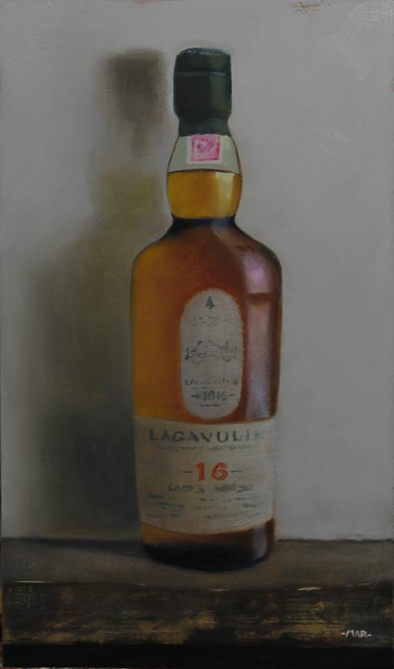 scotch Lagavulin 16