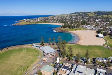Surf beach aerial #1