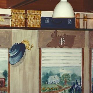 wall mural detail