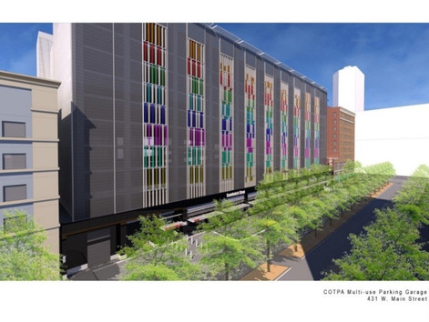 Oklahoma City Arts District Parking Garage Project Wins International Parking Institute Awards of Ex