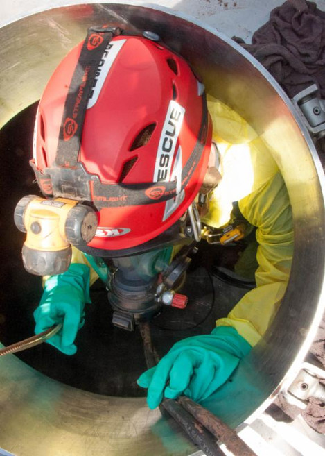 Enviro Clean Conducts Confined Space Rescue Training