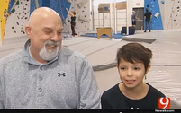 Lemke Employee Raising an Olympic Dreamer