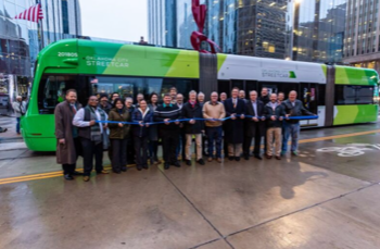 Lemke Attends Ribbon Cutting for MAPS 3 Streetcar Project