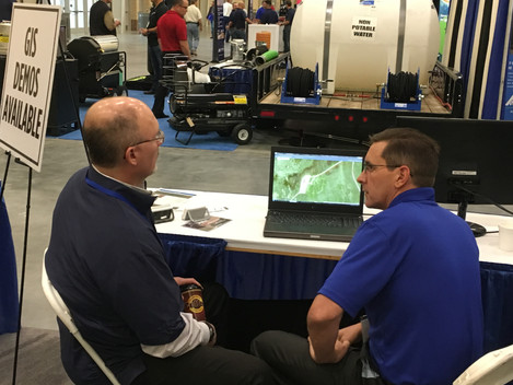 Lemke Demonstrates GIS Solutions for Oil and Gas Operators