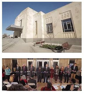 Cardinal Engineering Joins in the Celebration of the Santa Fe Railroad Station Renovation
