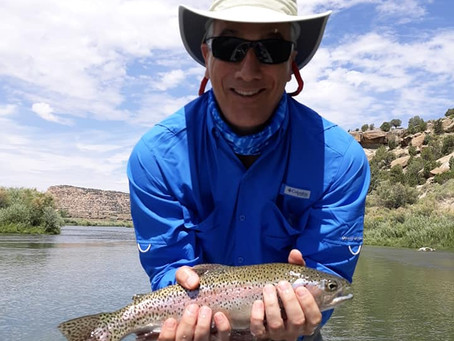 Fish of the Day on the San Juan River - Fly Fishing
