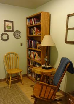 Las Verandas Reading Area