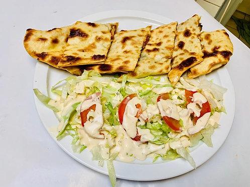 Pide fermé + Salade offerte