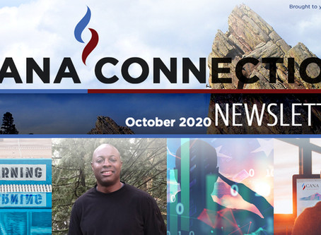 October 2020 - CANA CONNECTION NEWSLETTER