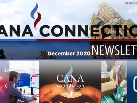 December 2020 - CANA CONNECTION NEWSLETTER
