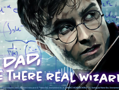 Harry Potter and the Fields of Data