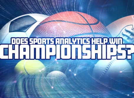 Does Sports Analytics Help Win Championships?