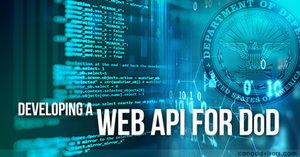 Developing as API for the DoD header image