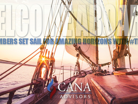 Welcome Aboard New Team CANA Members!