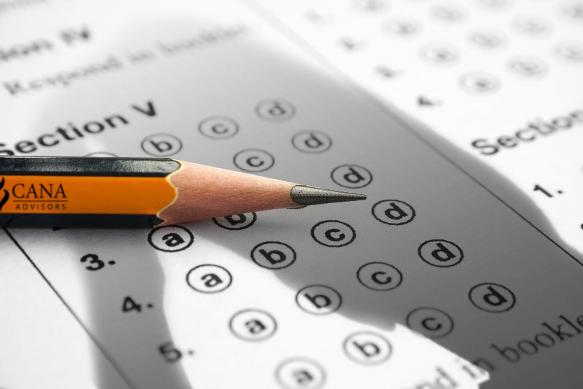 Professional Certifications test taking image
