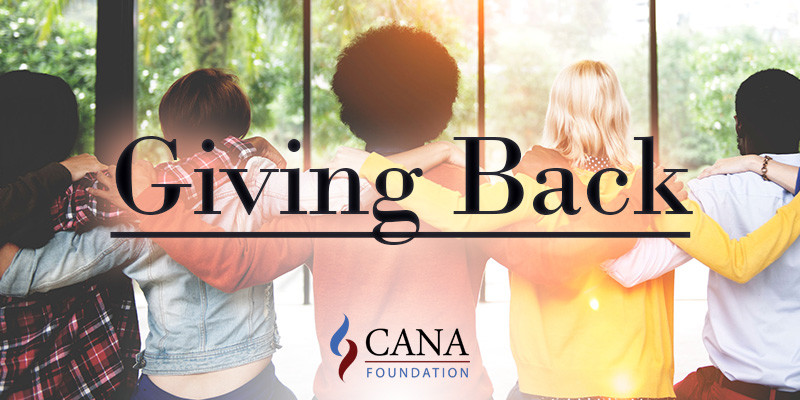 CANA Foundation giving back