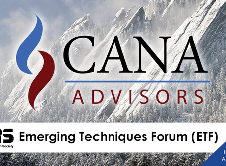 CANA Advisors at The MORS Emerging Techniques Forum
