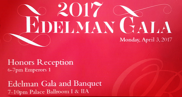The 2017 Edelman Gala