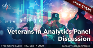 Free Veterans Analytics course panel discussion