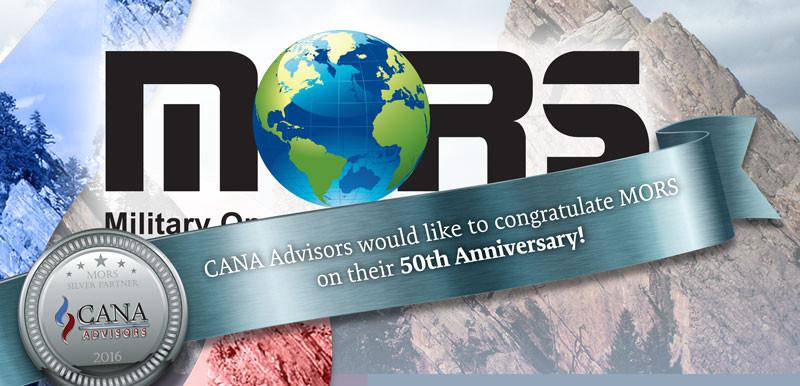 MORS 50th Anniversary