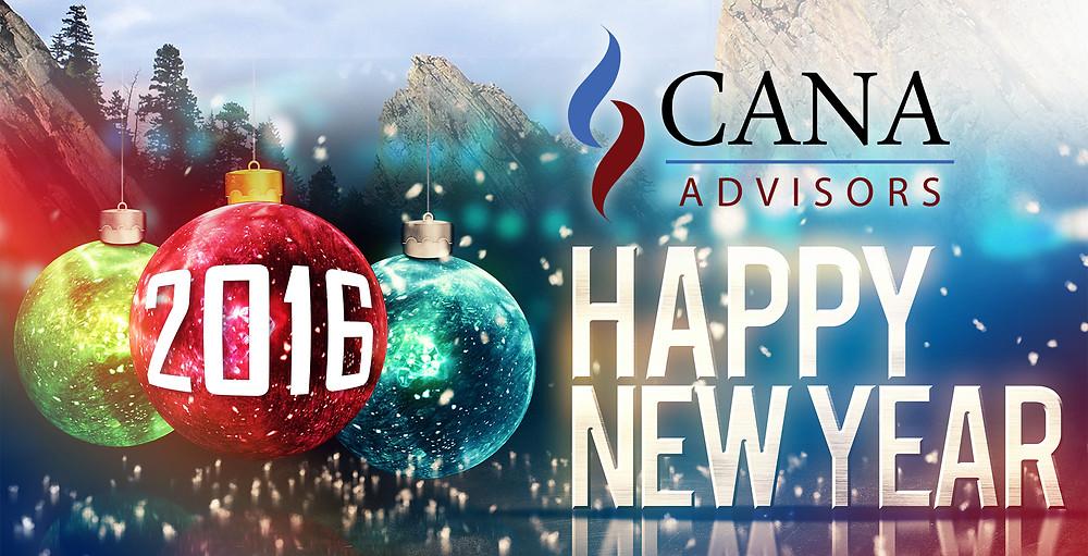 Happy 2016 CANA Advisors