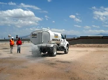 What's Up with Dust?  TerraLOC:  A Cost Savings Dust Abatement Solution
