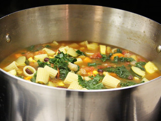 Meatless Monday Minestrone - It's MMM MMM good!