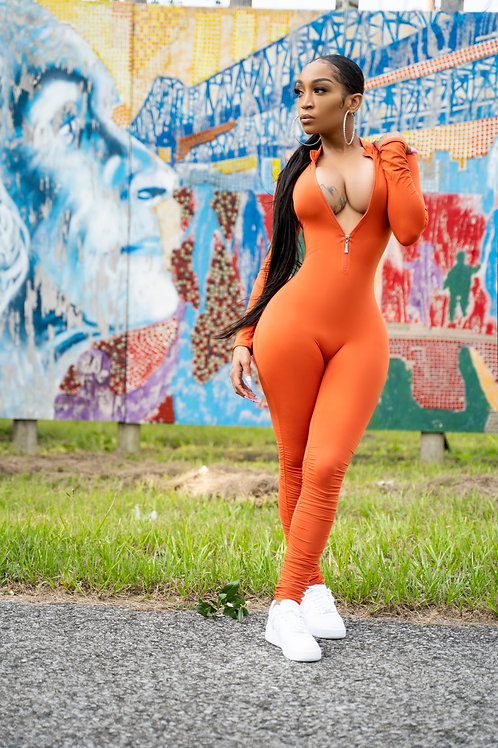 Hood Chic Bright Rust