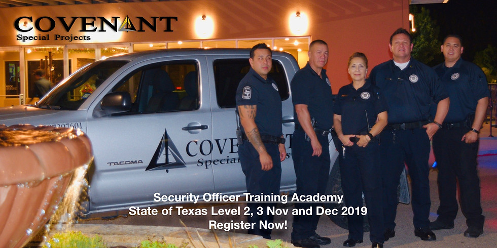 TX Security Officer Level 2 Course