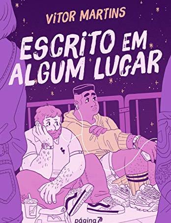 """RESENHA de """"Escrito em algum lugar"""", de Vitor Martins"""