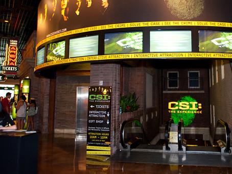 DE MALA E CUIA - CSI Experience + MGM Hotel + Mob Museum + Freemont Street + KĀ + loja Hershey's