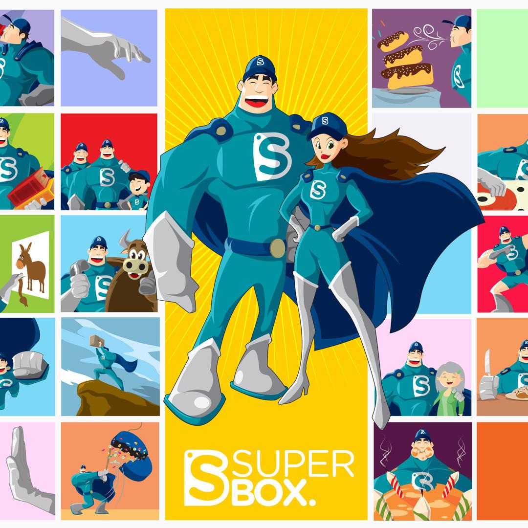 Diseño de personaje SuperBox