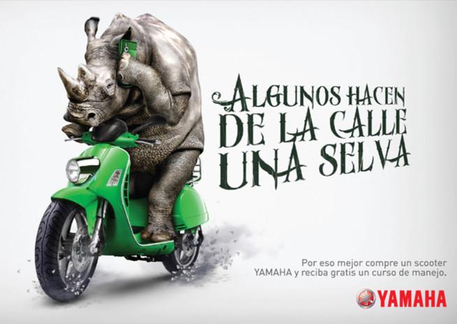 Campaña Yamaha