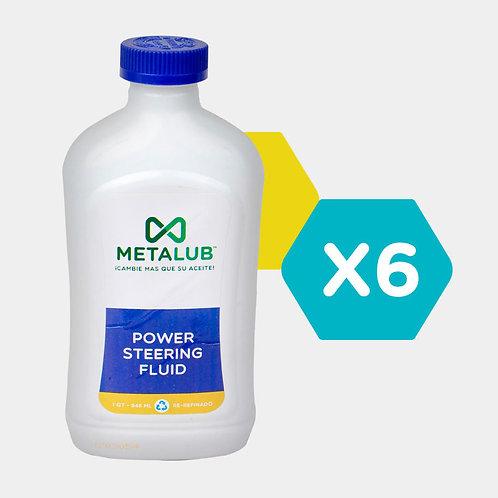 Metalub MP PowerSteeringFluid Packs 6