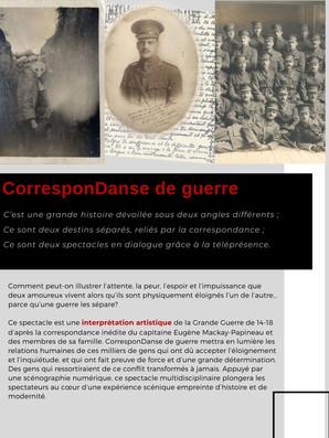 CorresponDanse du Guerre p.3