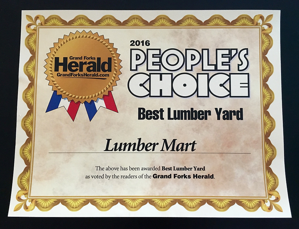 Lumber Mart: People's Choice for Best Lumber Yard