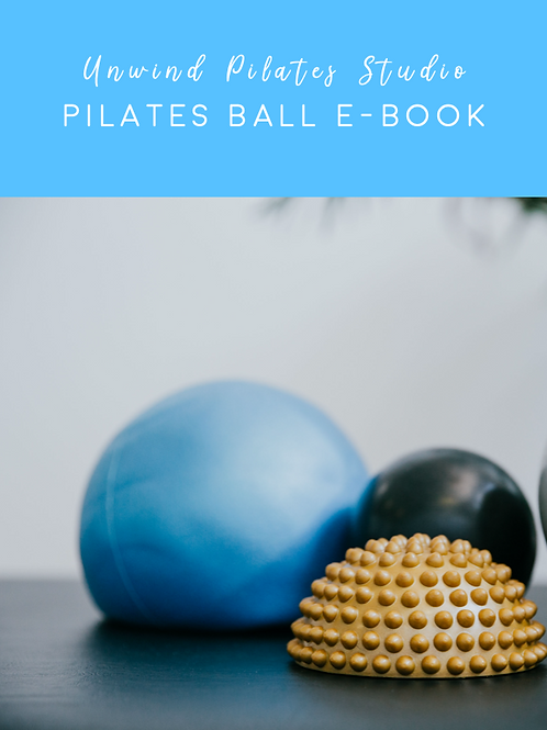 Pilates ball and e-book bundle