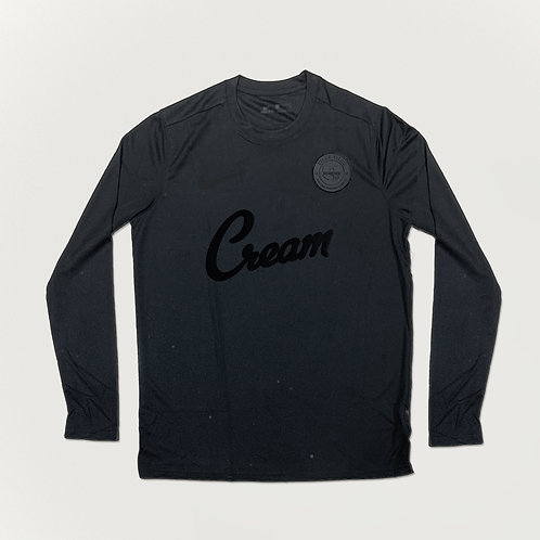 Killa Villa x C.R.E.A.M Triple Black LS Shirt