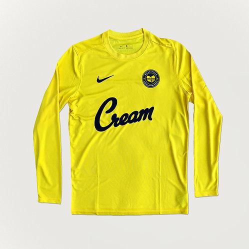 Killa Villa C.R.E.A.M Yellow LS Shirt
