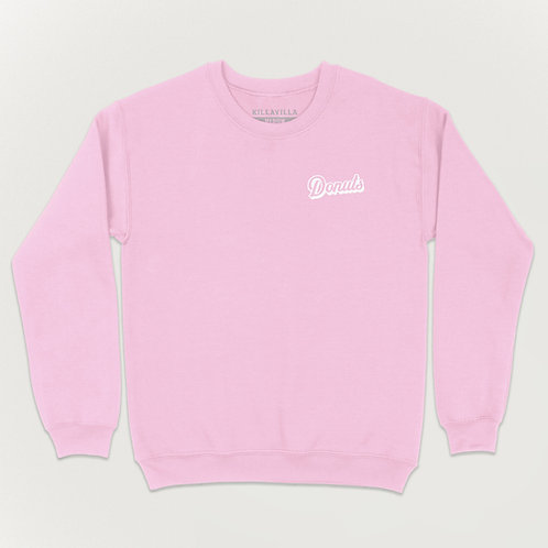 Killa Villa Donuts Sweater - Pink/White