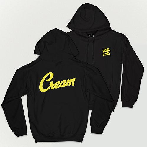 Cream Hoodie - Black/Yellow
