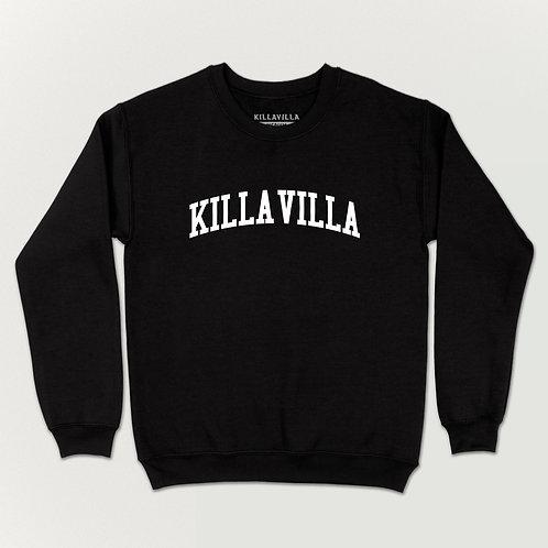 Killa Villa Collegiate Sweater - Black