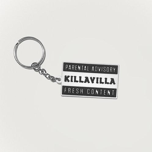 Killa Villa 'Parental Advisory' Keyring