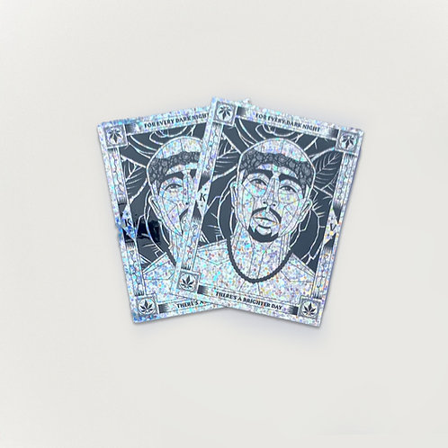 Tupac Shiny Stickers