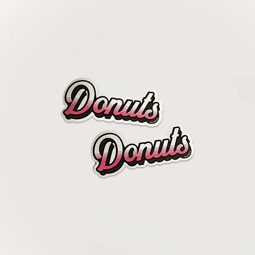 Donuts Stickers x 2