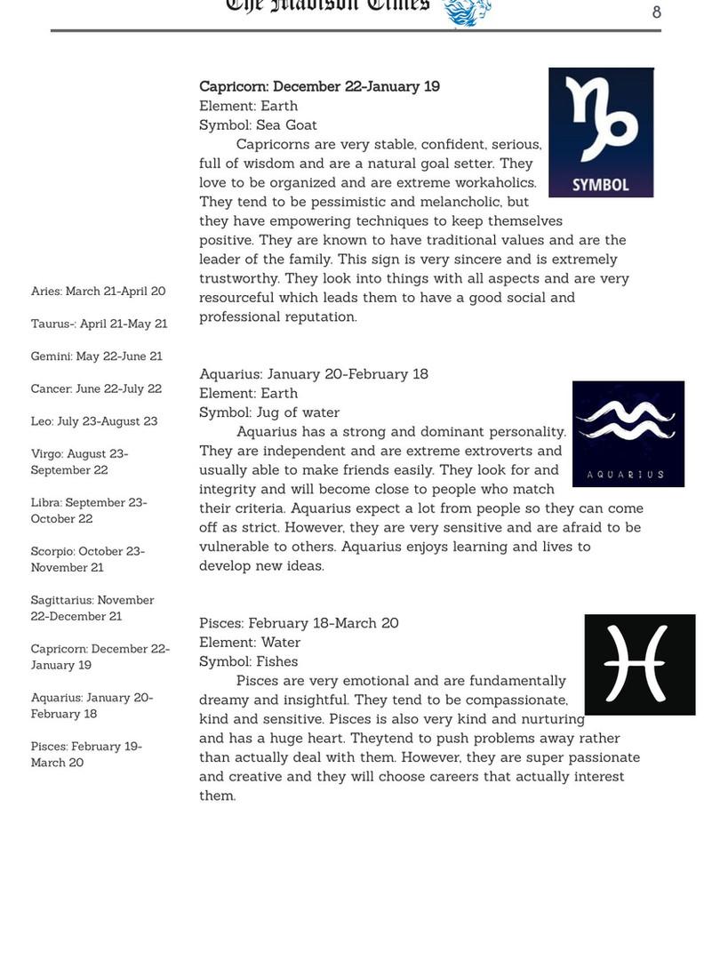 Horoscope News cont.