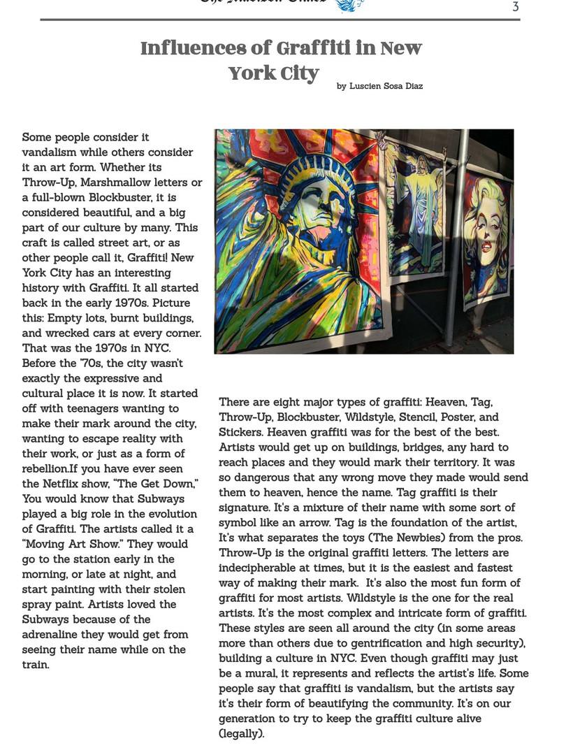 Influences of Graffiti