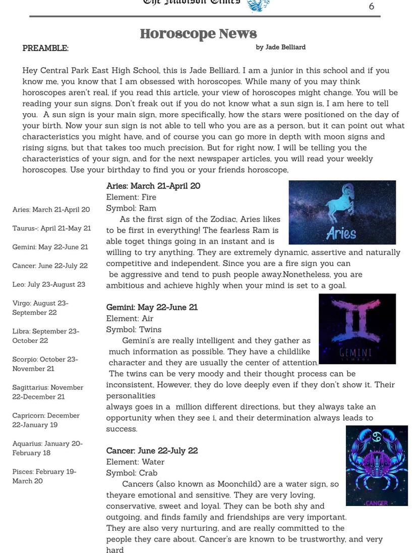 Horoscope News